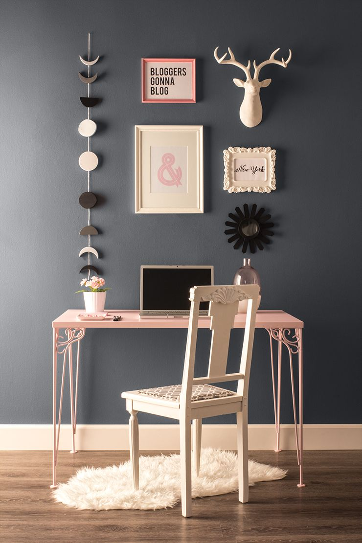 Rich Grey Light Shades Of Pink And Creme Behr ColorsPaint