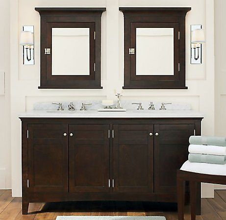 Fresh Double Medicine Cabinet Mirror