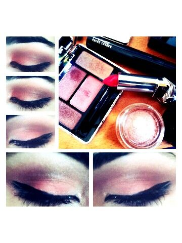 Another version of Guerlain peach & earth eyeshadow... makeup by me :)