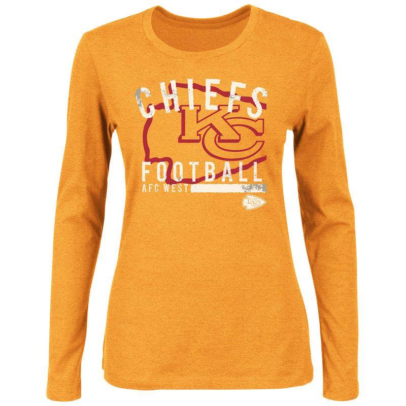 e37d9a48 Kansas City Chiefs Women's Illegal Formation IV Long Sleeve T-Shirt ...