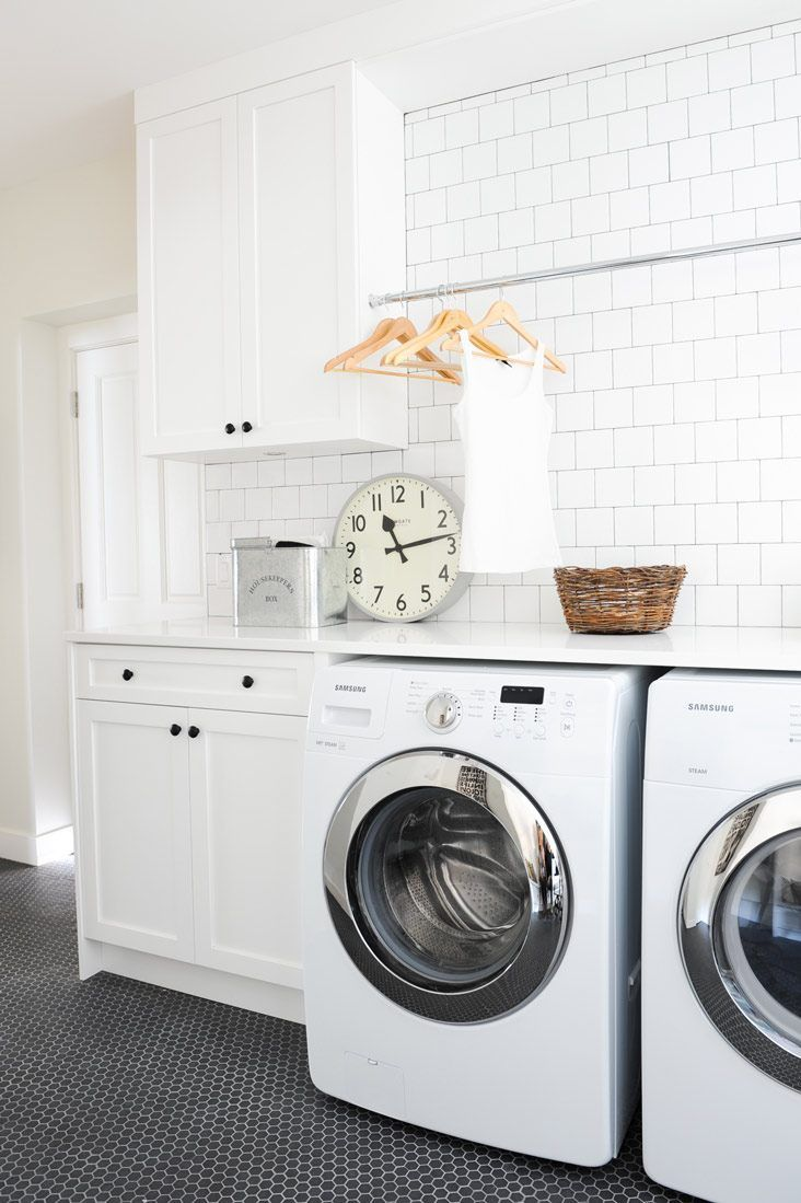 50 Beautiful And Functional Laundry Room Ideas Homelovr White
