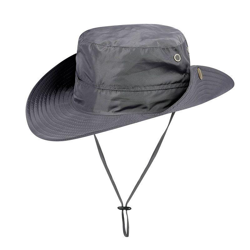 d65e6e84e1c US  10.50 - Mens Summer Cotton Visor Bucket Hats Fisherman Hat Outdoor  Climbing Sunshade Cap