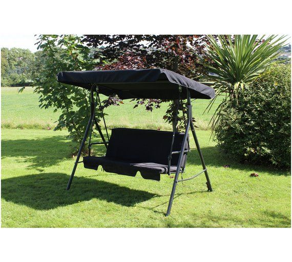 Buy Home 3 Seater Swing Chair At Argos Co Uk Your Online