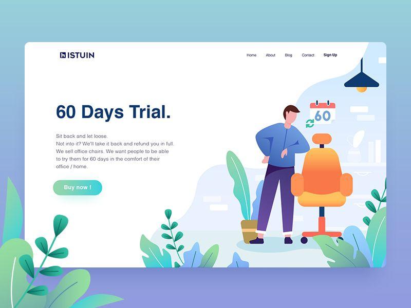 60 Days Trial Web Development Design Web Layout Design Web Design Tips