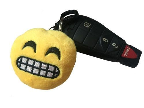 Plush Emoji Keychains - FREE SHIPPING
