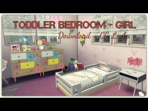 28 Sims 4 Toddler Bedroom Girl Download Cc Links Youtube Toddler Bedrooms Girls Bedroom Toddler Bed Girl