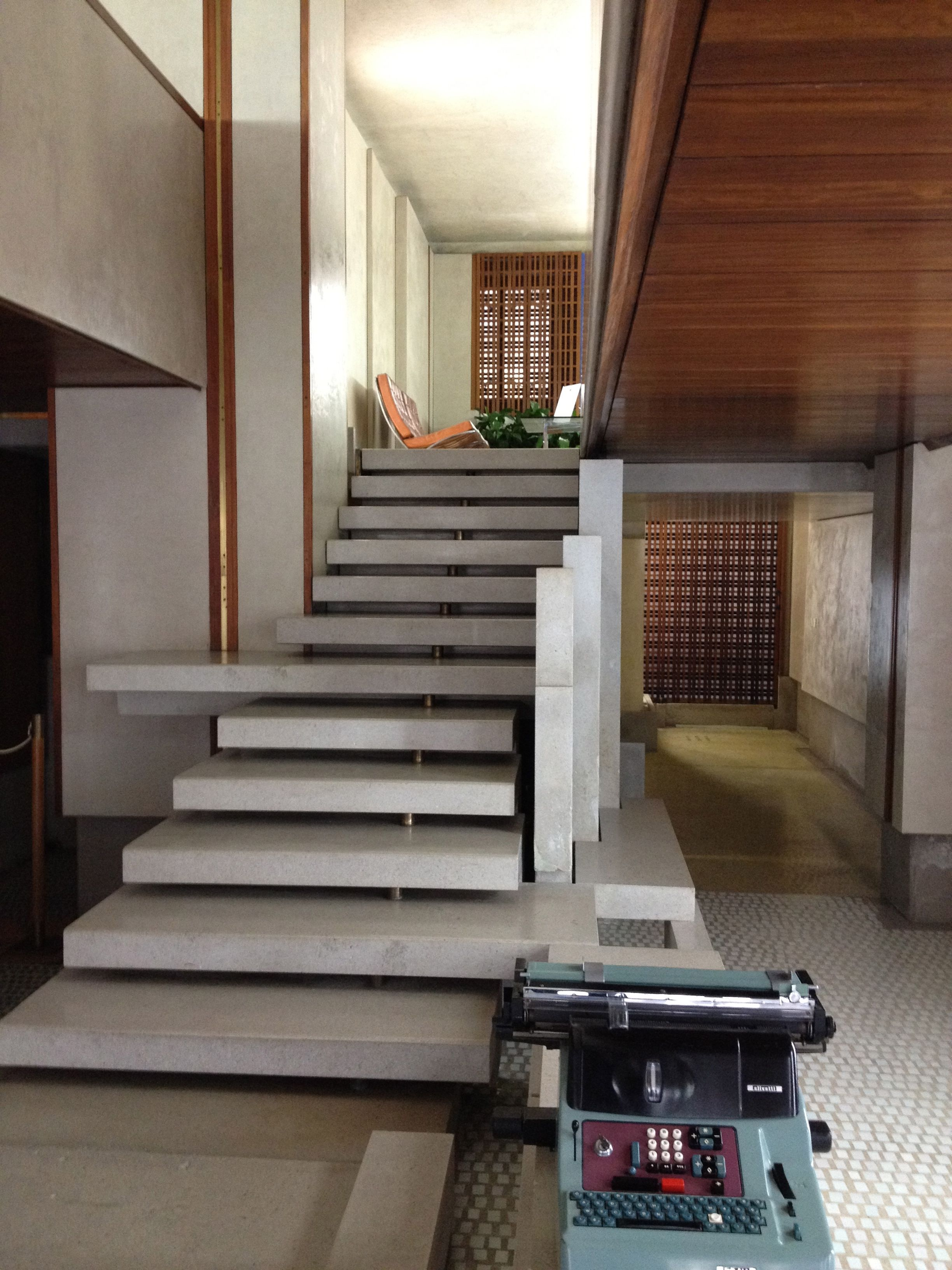 Olivetti Stair by Carlo Scarpa