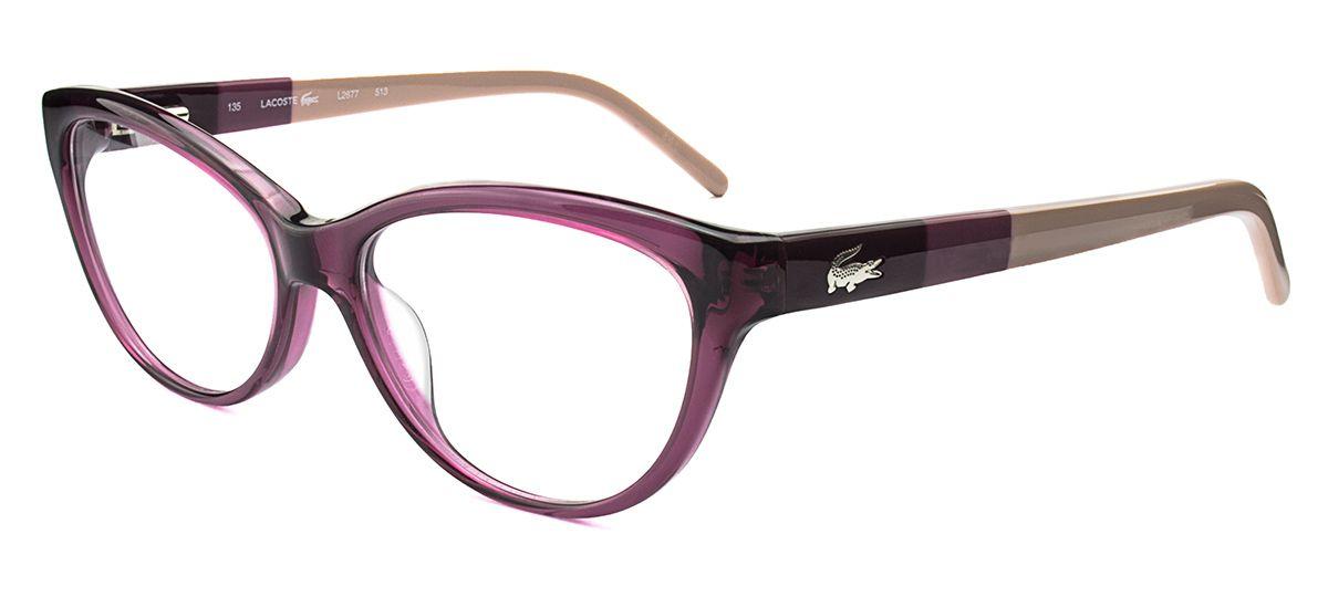 Lacoste L2677 - Rosa - 513 Modelos De Óculos, Lacoste, Rosas c1562f9597