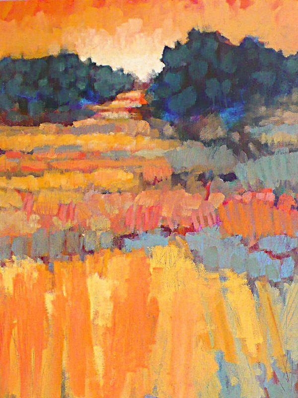 """Waiting for Spring"" 2014  K Wayne Thornley Acrylic on canvas  24"" x 30"""