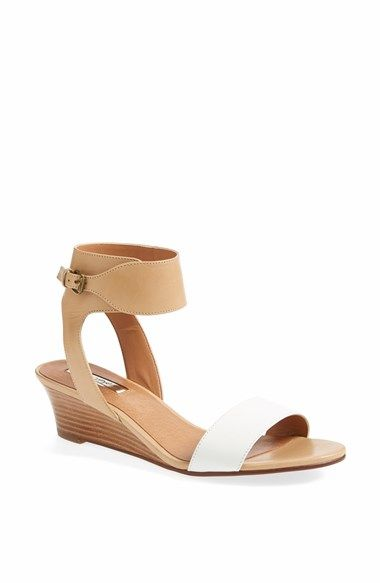 Halogen® 'Holly' Low Wedge Sandal available at #Nordstrom