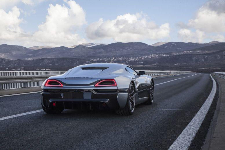 Rimac Concept One Electric Supercar Tesla Roadster Super Cars Geneva Motor Show