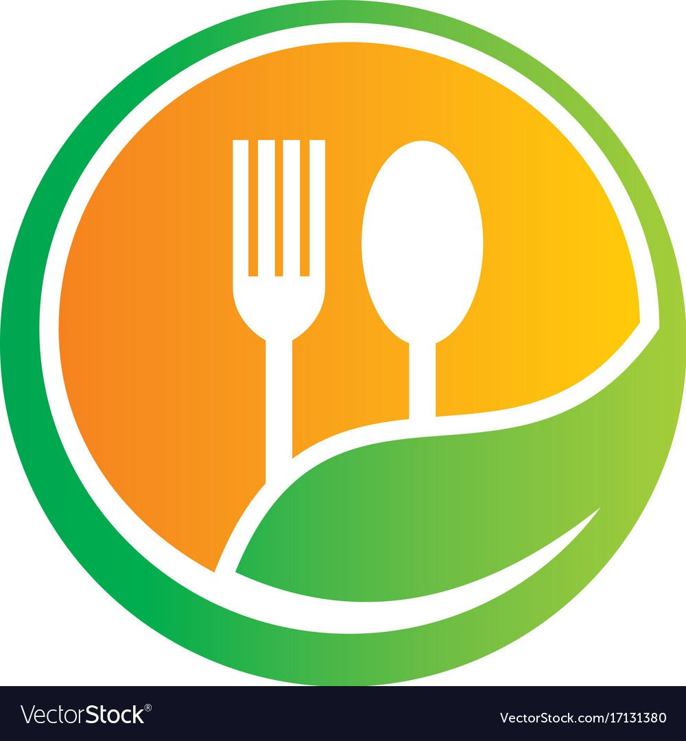 organic food restaurant logo. Download a Free Preview or