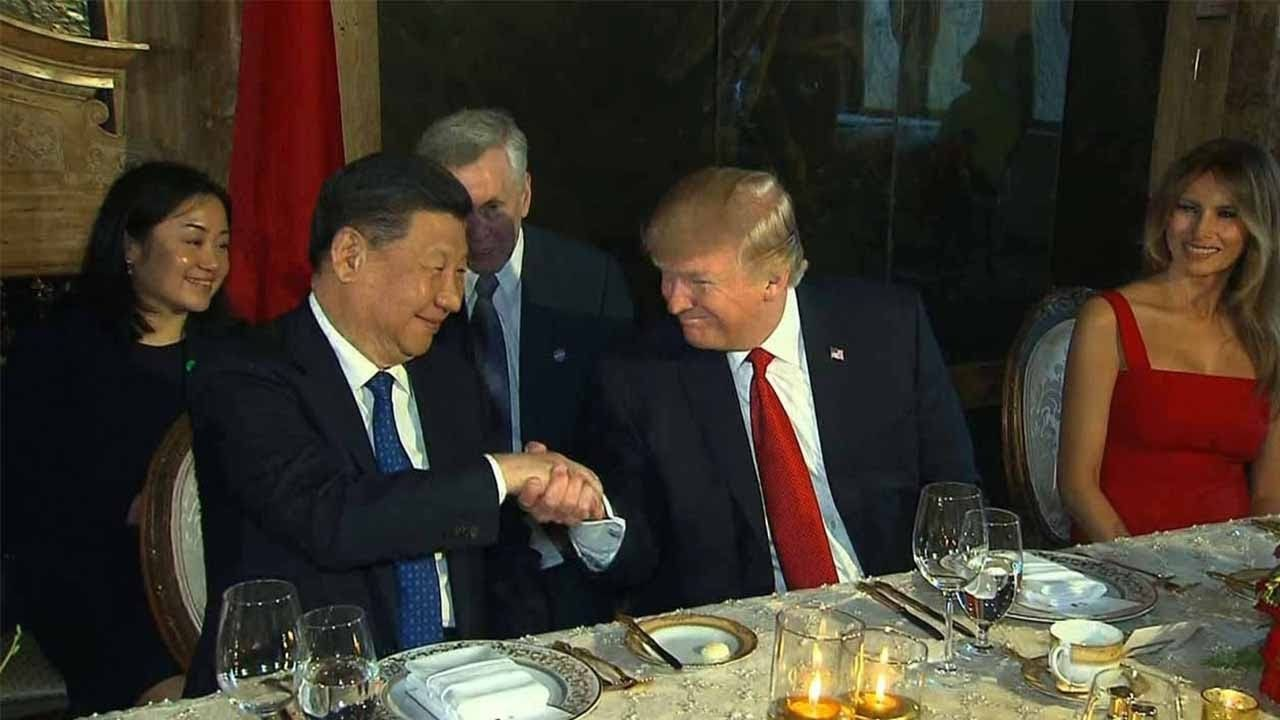 Xi and Trump for continued warm ChinaUS relations after