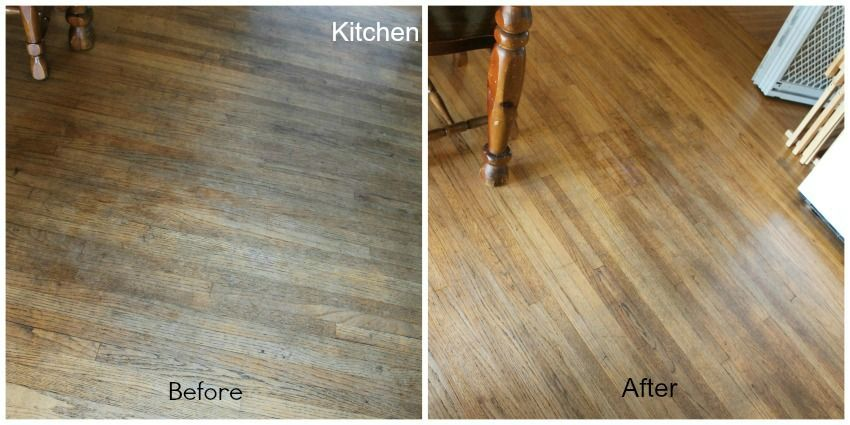 Pledge Before And After Sponsored Sweet Home Hardwood Flooring
