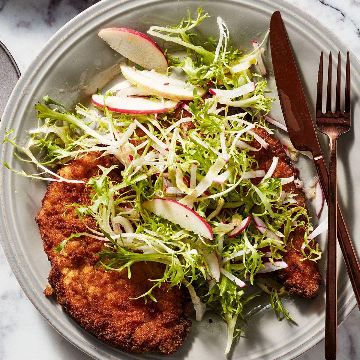 Chicken Schnitzel Made Simple Recipe Schnitzel Recipes Chicken Schnitzel Recipes