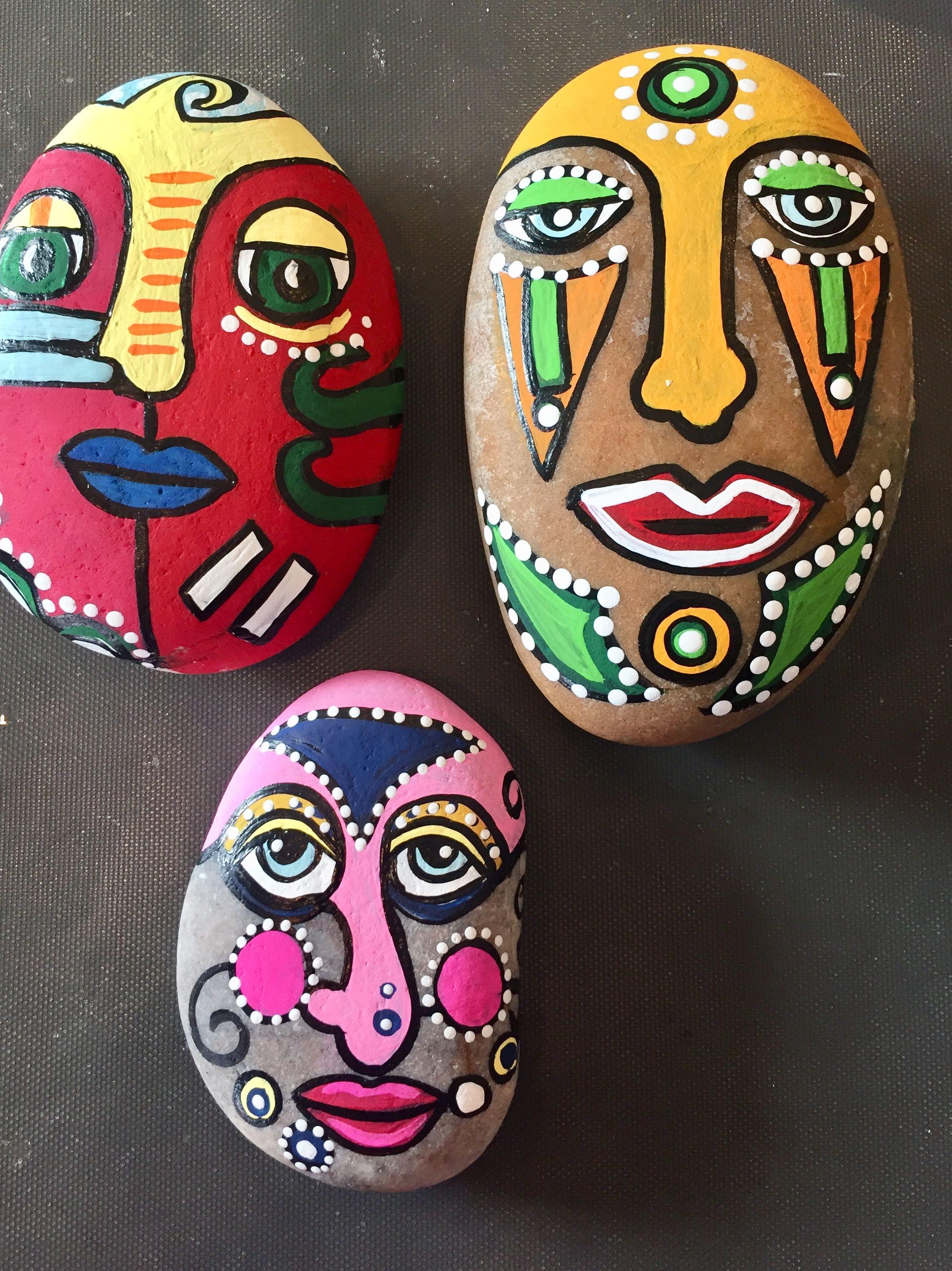 Pin By Karen Talbot On Karens Art Creations Painted Rocks Painted Rocks Funny Paintings Rock Painting Tutorial