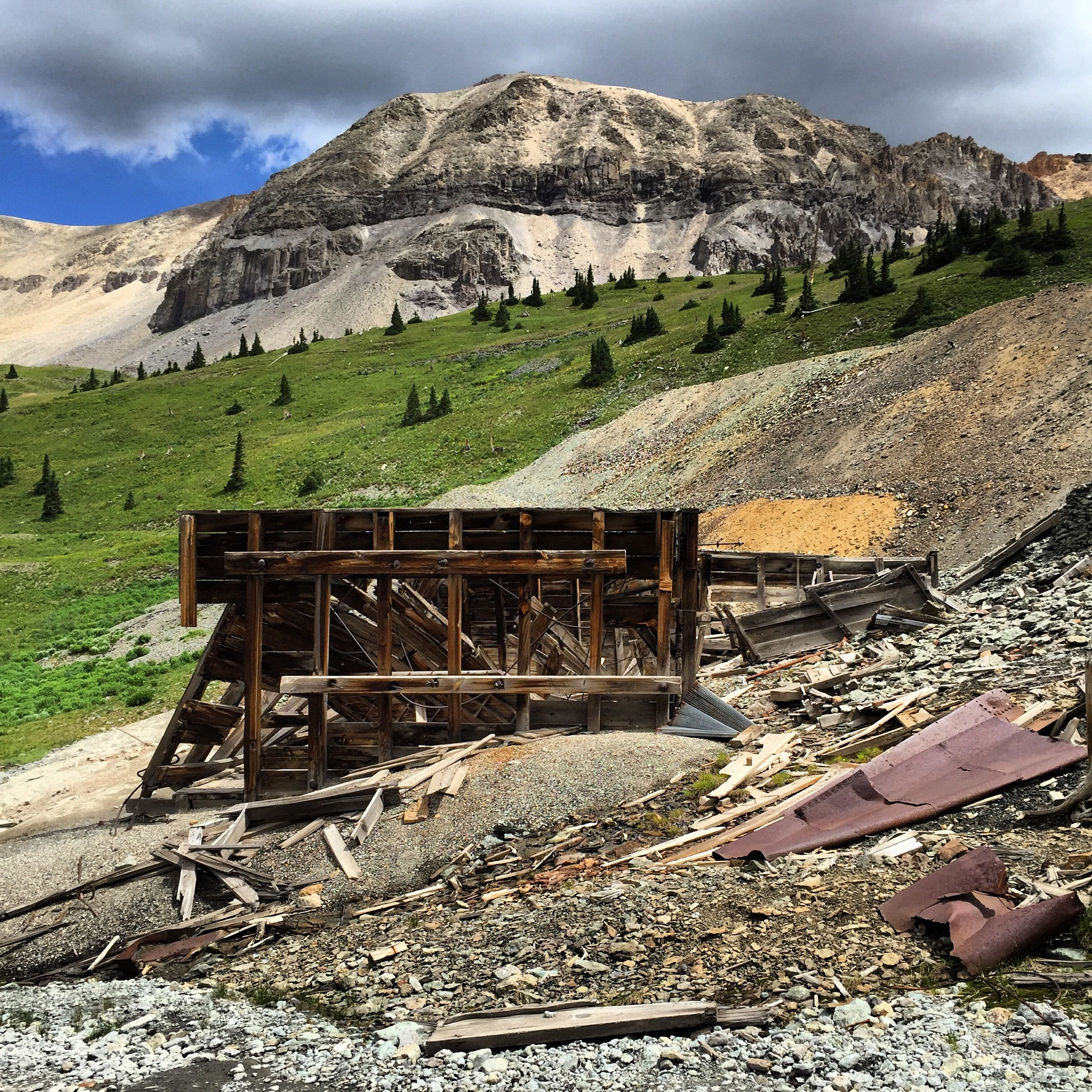 Tomboy Mine, Near Telluride On Imogene Pass