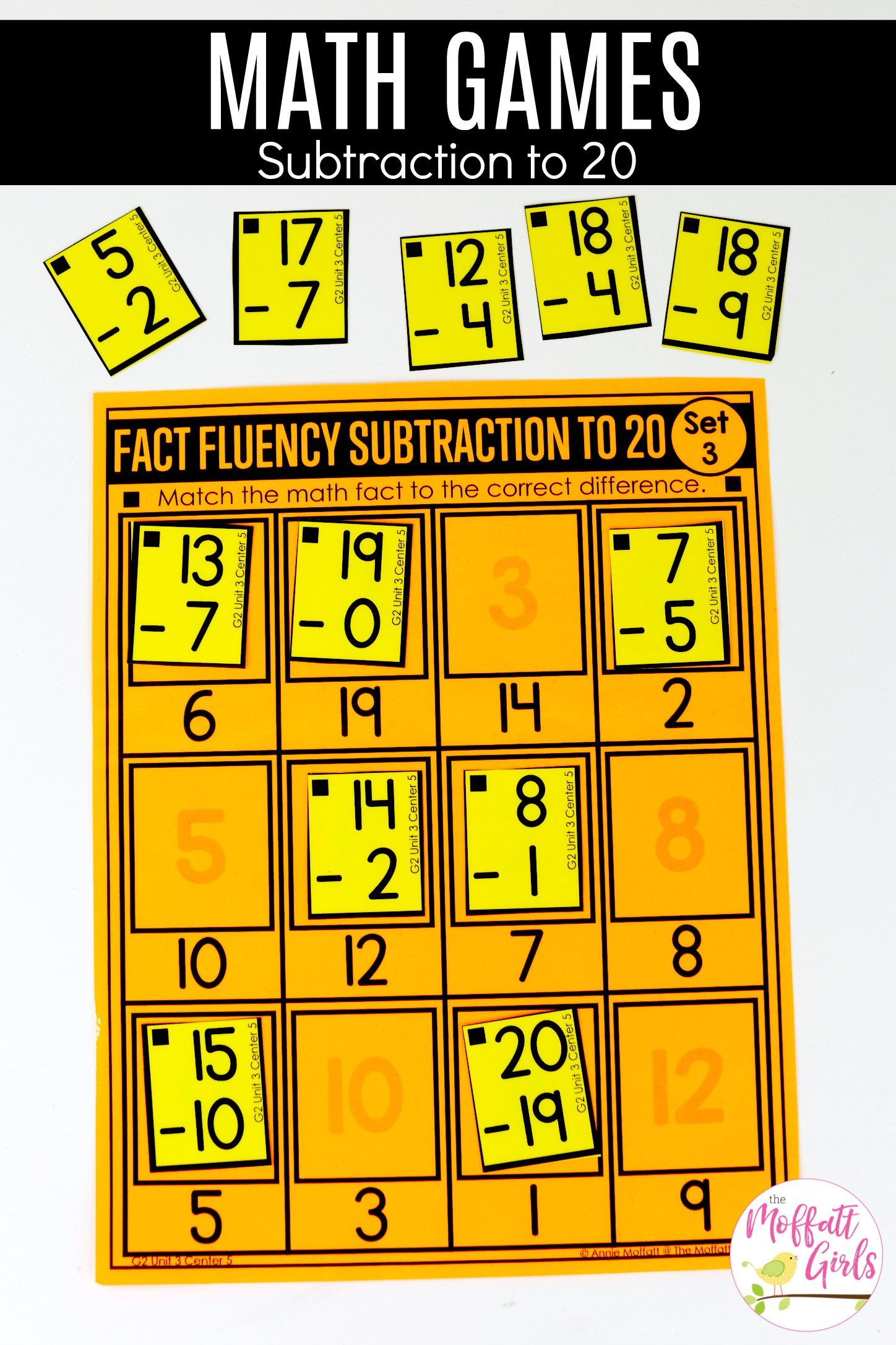 Addition And Subtraction Fluency Up To 100 For 2nd Grade Subtraction Subtraction Facts Subtraction Facts Games [ 2172 x 1448 Pixel ]