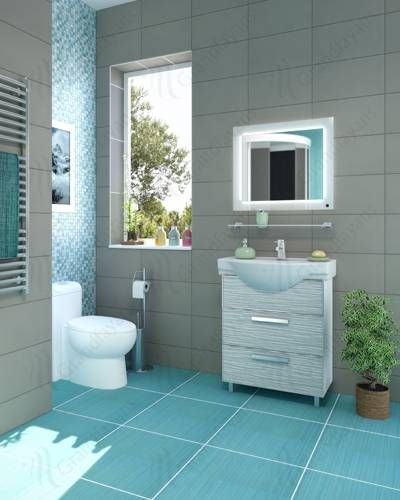 Photo of Round sinks, modern bathroom taps with a classic feel