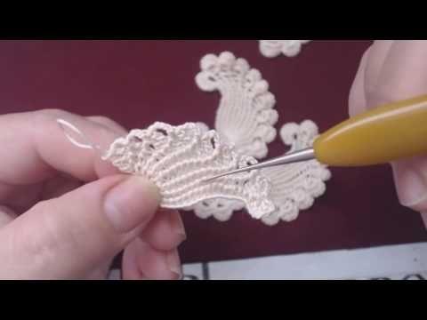 Ютуб вязание крючком кружева