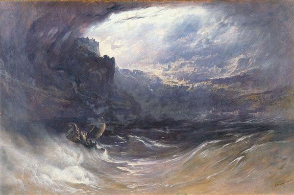 Great Flood legends of the world | Ancient civilizations, John martin,  Landscape