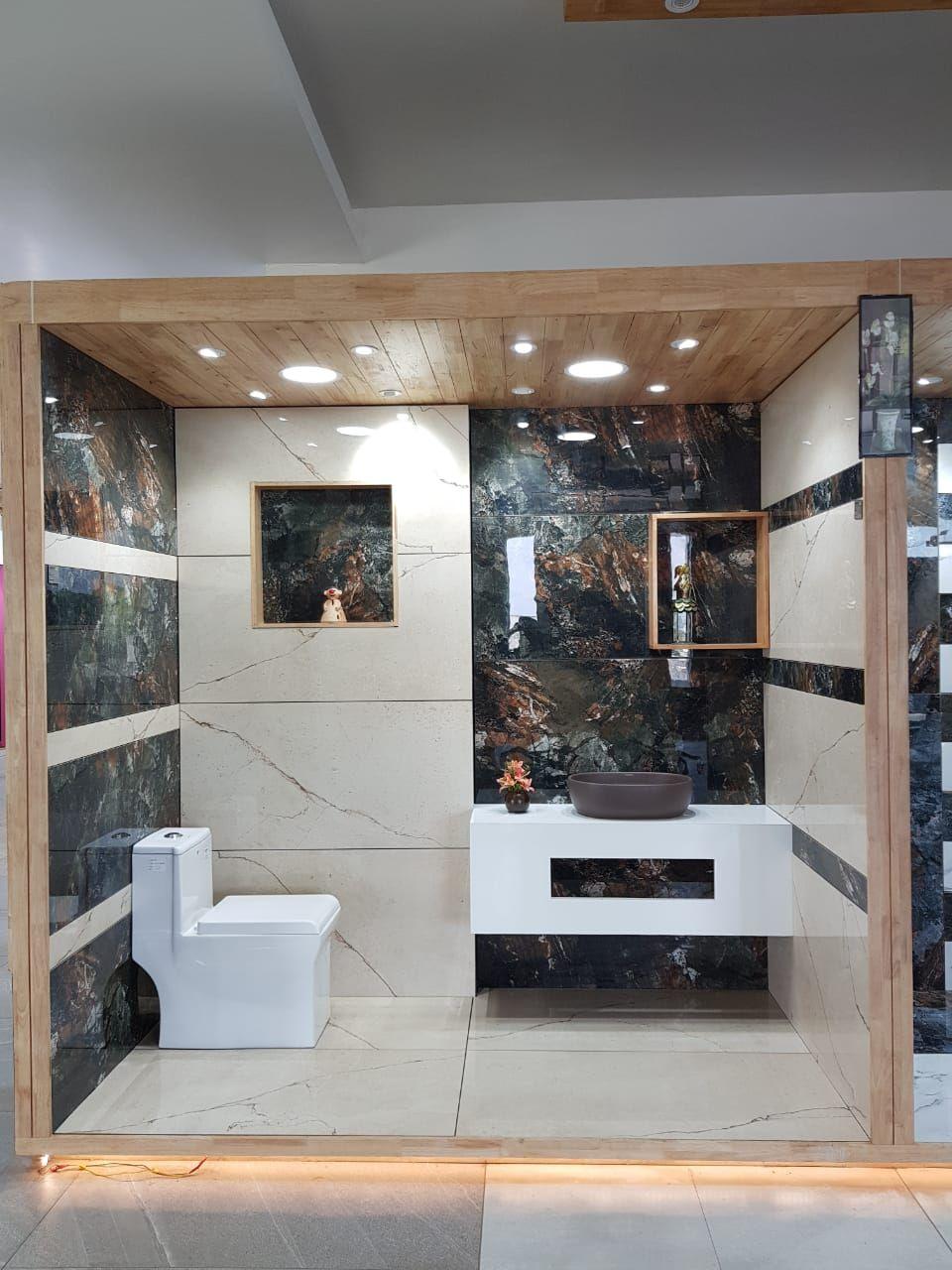 Pin By Keyur Khoont On Showroom Showroom Interior Design Bathroom Design Small Tile Showroom