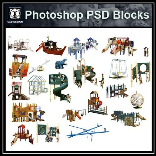 Photoshop Psd Children S Play Equipment 3 Kids Play