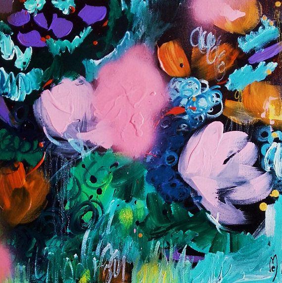 Abstrakte Kunst abstrakte Leinwand Kunst Tabelle | Paintings ...