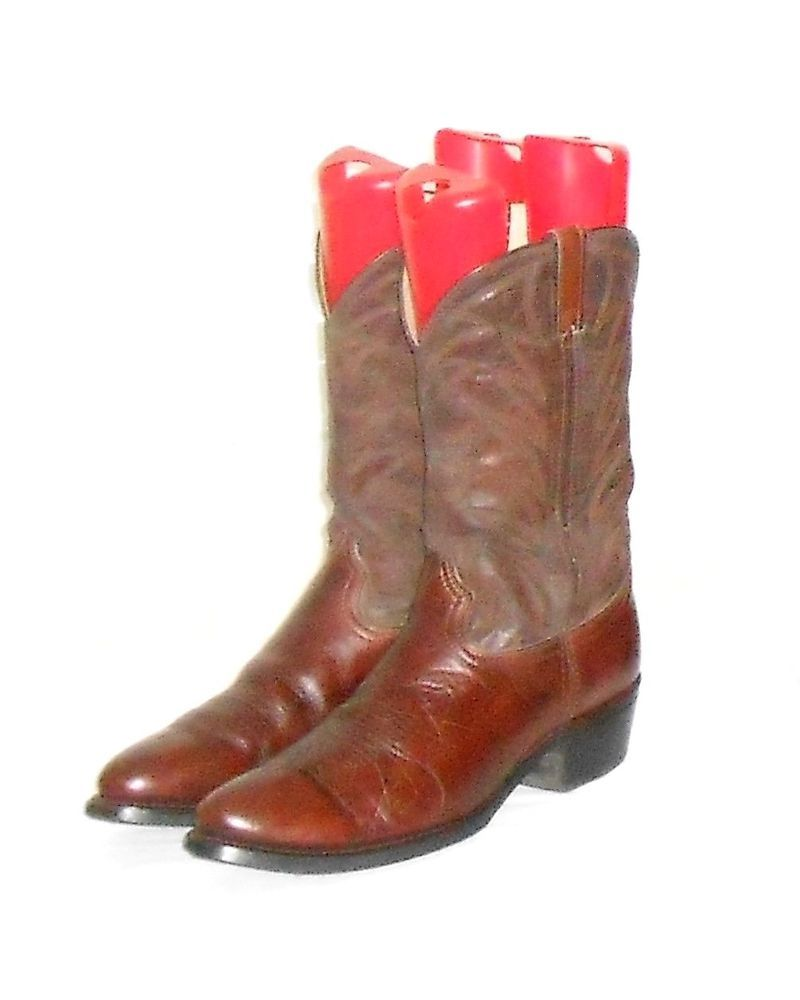 Durango Men's Brown Distressed Western Cowboy Work Boot  Made in USA Size 12 D #Durango #CowboyWestern
