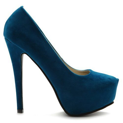 Ollio Womens Platforms Faux-Suede Classic Pumps High Heels Multi Colored Shoes (10, Turquoise) Ollio, http://www.amazon.com/dp/B009MA5OIM/ref=cm_sw_r_pi_dp_Ka66qb0RWMZZA
