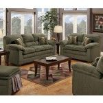 $989.00  Simmons Upholstery - Bianca Chenille Sofa and Loveseat - 3684SL
