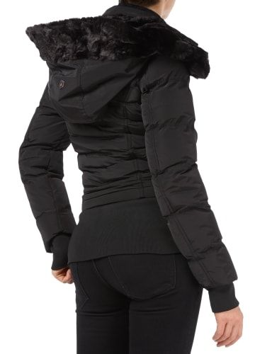 Wellensteyn Damen Winter Jacke Queens schwarz gesteppt QUE 382 black
