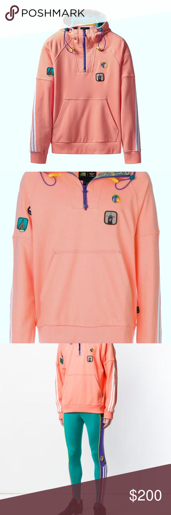 Men S Adidas Pharrell Williams Hu Hoodie Xxl Peach Hoodie Xxl Adidas Pharrell Williams Clothes Design [ 1740 x 580 Pixel ]