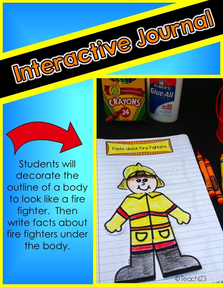 Fire Prevention Week Fire Safety Lesson fluency, mini