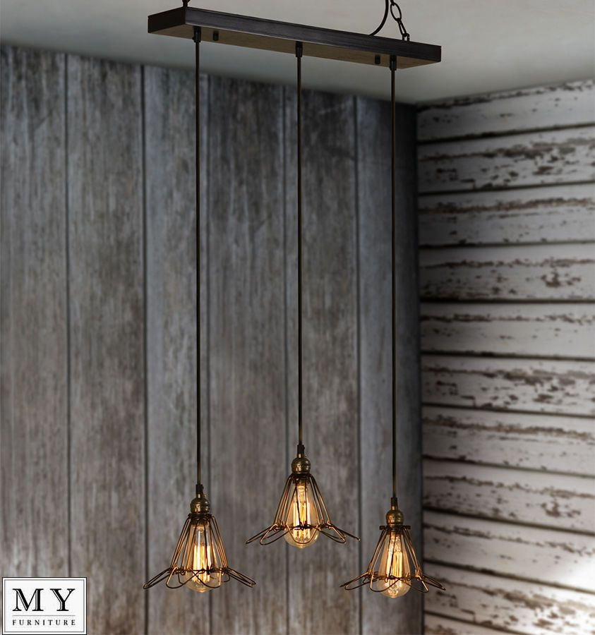 Sebastien  Vintage Retro Industrial Pendant Light Edison Filament Bulb  Included