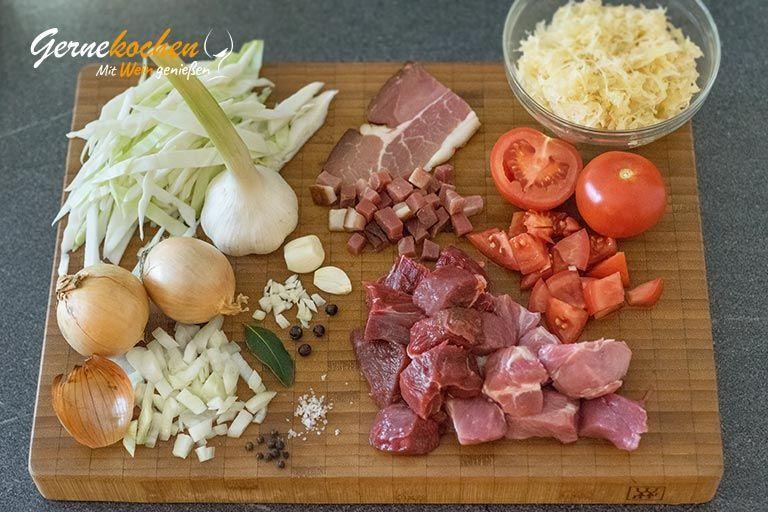 Bigosch (Bigos) aus dem Slow Cooker #bigosrezeptpolnisch Bigosch (Bigos) aus dem Slow Cooker #bigosrezeptpolnisch