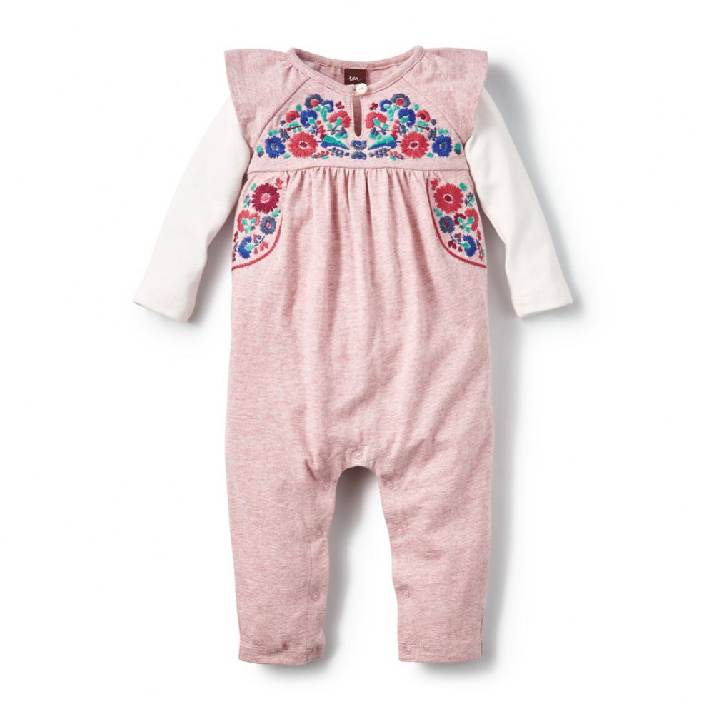 551280dd063 Baby Girls Yarii Embroidered Romper