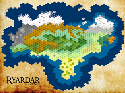Ryardar, my first map on Hexographer for a future D&D