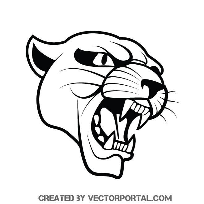 Puma Wild Cat Vector Graphics With Images Cat Vector Free