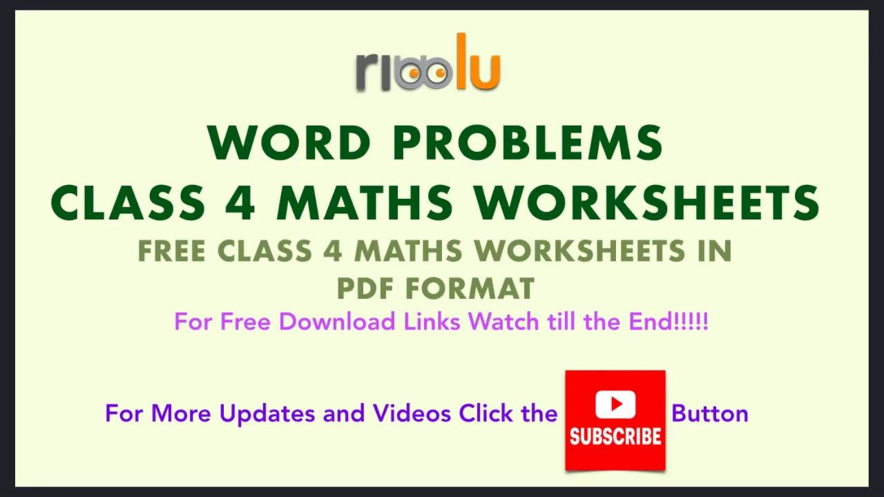 Word Problems Class 4 Addition Subtraction Multiplication Division Math Classroom Posters Word Problems Sample Question Paper Addition word problems for grade cbse