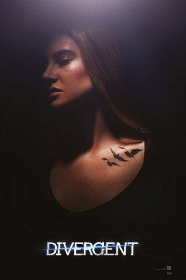 Niezgodna Divergent Tris - plakat
