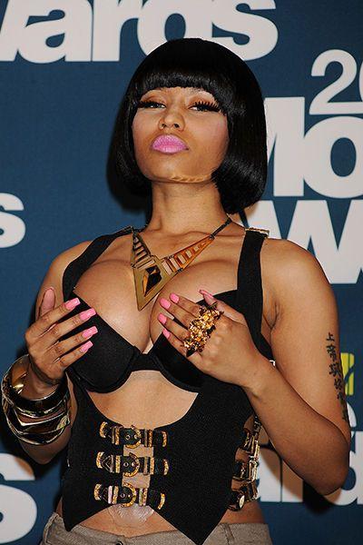 Something is. nicki minaj big breast consider, that