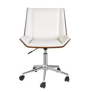 93b7a4fd03ea5 Leather Office Chairs You ll Love