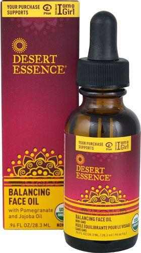 Balancing Face Oil - 0.96 fl. oz. by Desert Essence (pack of 3) Hard Candy Eyem Tired, Lightweight Depuffing Eye Serum. 0.59 Oz (Pack of 6) + Schick Slim Twin ST for Dry Skin