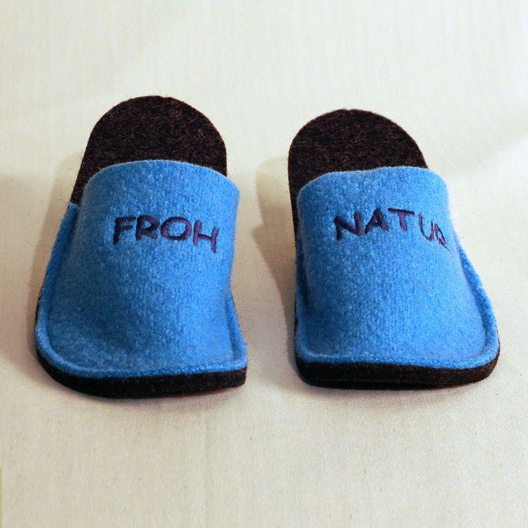Hausschuhe Happy Patschen Froh Natur   Slippers & Socks ...
