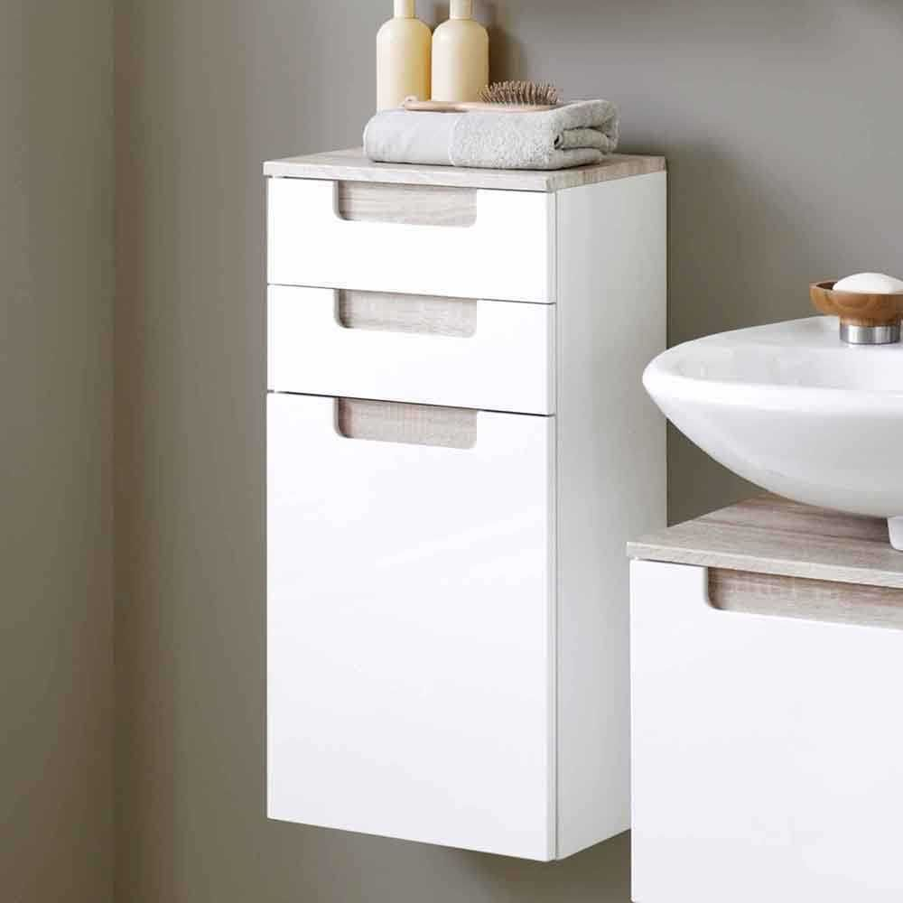 Best Badezimmer H ngeschrank mit Griffmulden Wandmontage Jetzt bestellen unter https moebel