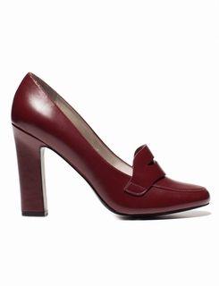 High Heel Penny Loafers | High heel