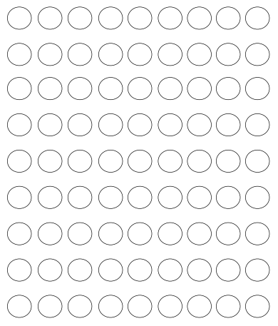 Printable Circle Dots Free Template Free Printables Pinterest