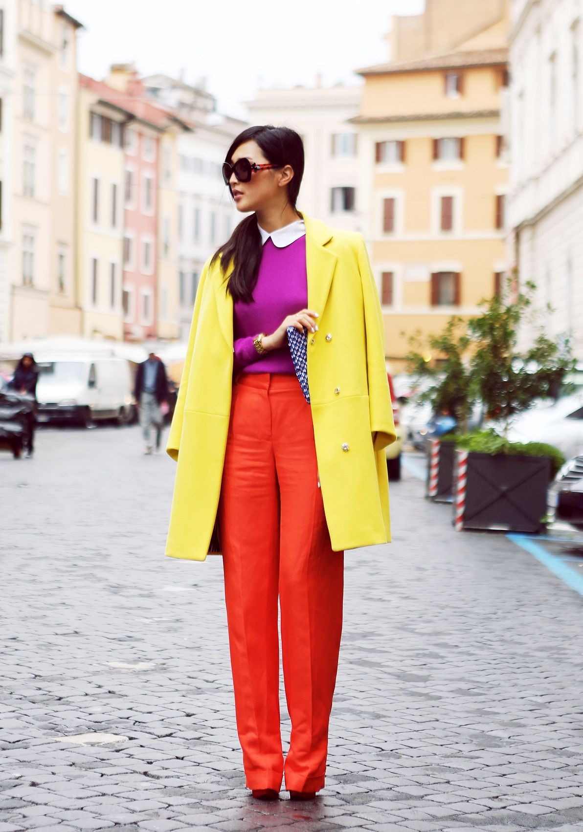 7 Color Combinations Perfect for Spring | Red pants outfit ...