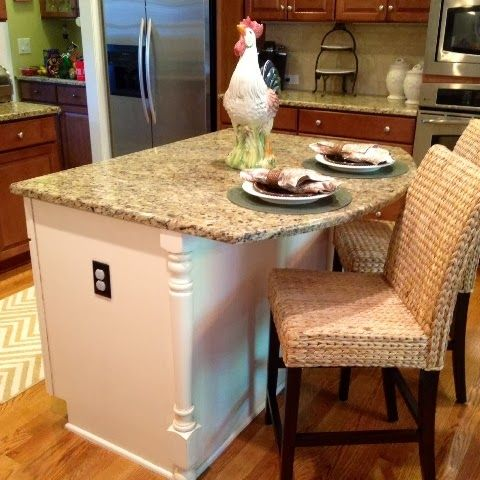 Kitchen Island Makeover Ideas kitchen island makeover | for the home | pinterest | kitchen
